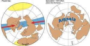 Amasia, il supercontinente del futuro