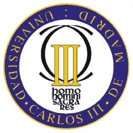 Logo dell'università Carlos III di Madrid