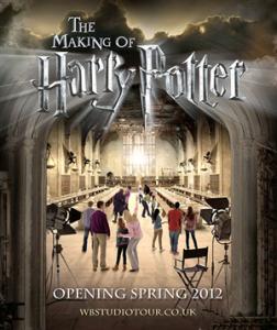 """Un'immagine pubblicitaria di """"The Making of Harry Potter"""""""