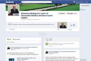 Page Facebook per Bodega