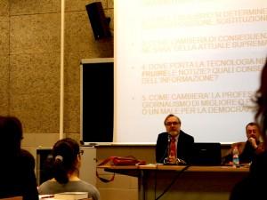 Conferenza giornalismo Roma 3