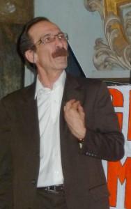 Pino Maniaci durante il suo intervento all'UNIfestival