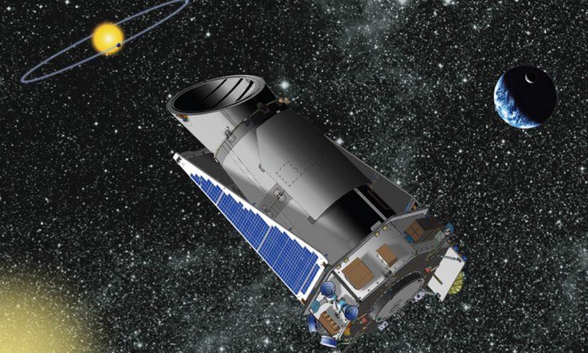 Sistema gemello del sistema solare, visto dal satellite Kepler
