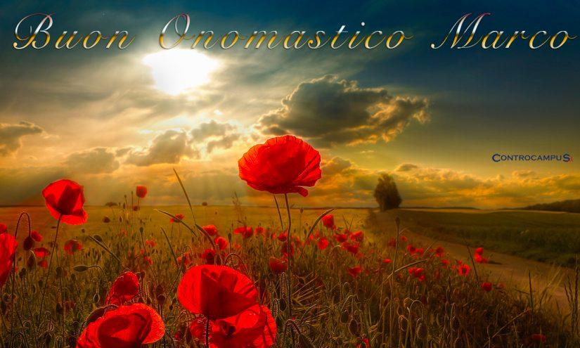 Immagini auguri buon onomastico per San Marco