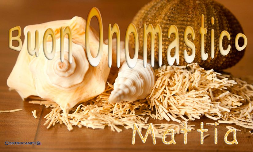 Immagini auguri buon onomastico per San Mattia 14 maggio