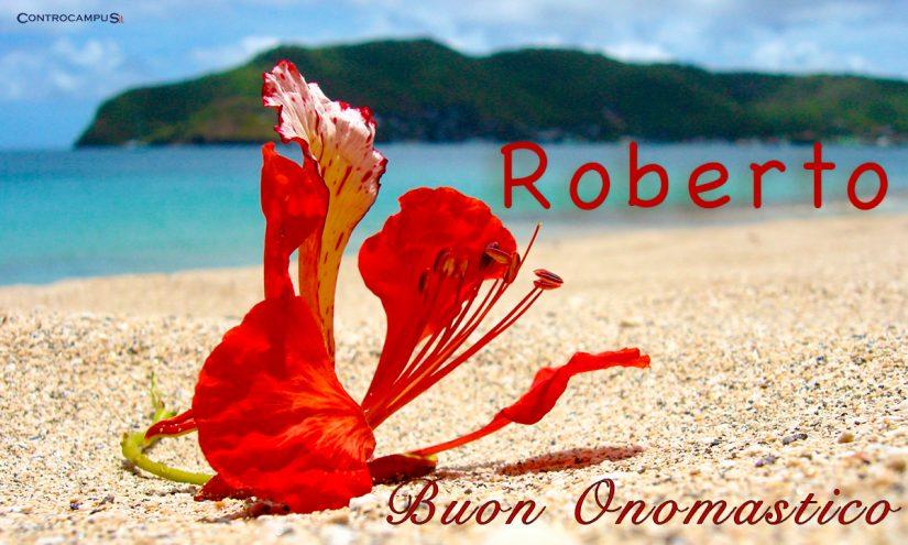 Immagini buon onomastico per San Roberto 7 giugno Santo del giorno