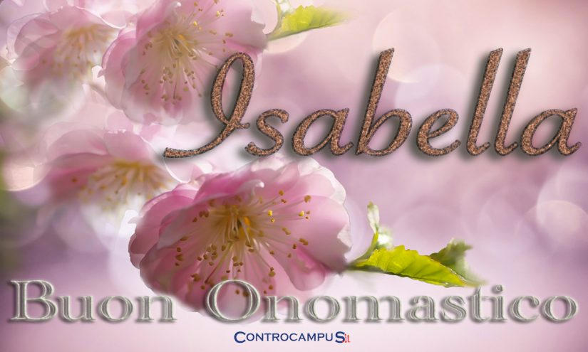 Immagini auguri buon onomastico per Santa Isabella 4 giugno