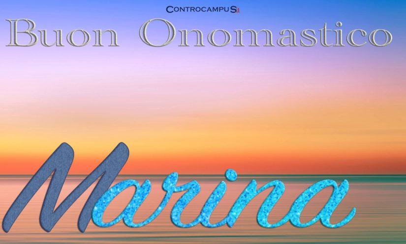 Immagini auguri onomastico per Santa Marina