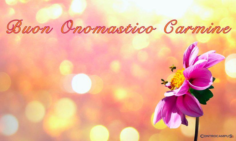 Immagini auguri buon onomastico per San Carmine