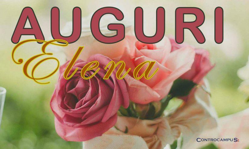 Immagini auguri buon onomastico per Santa Elena