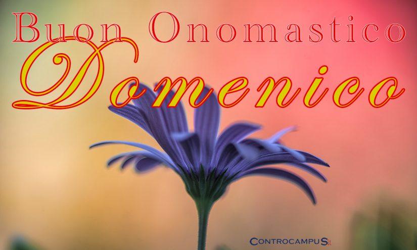 Immagini auguri buon onomastico per San Domenico
