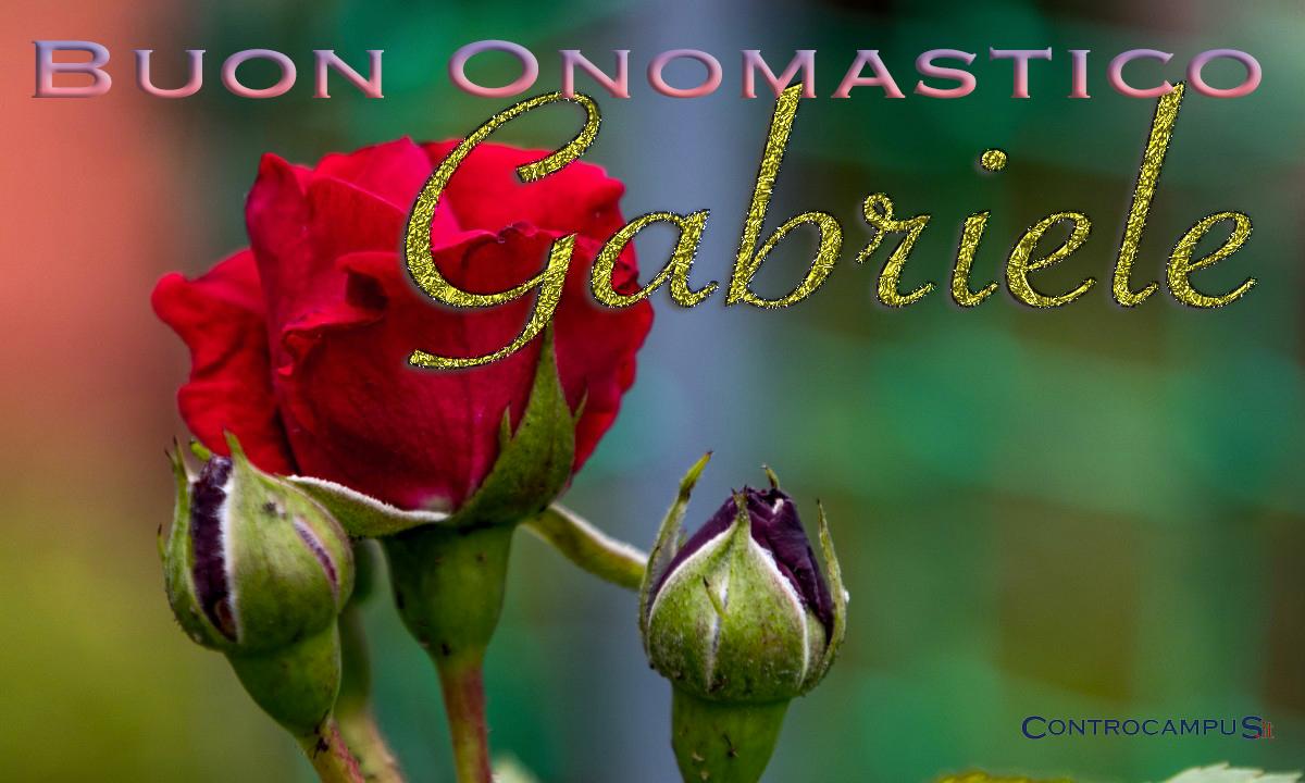 Immagini auguri buon onomastico per San Gabriele