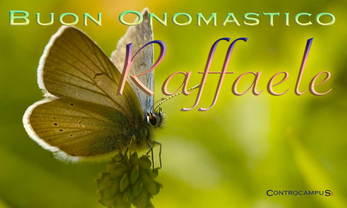 Immagini auguri buon onomastico per San Raffaele