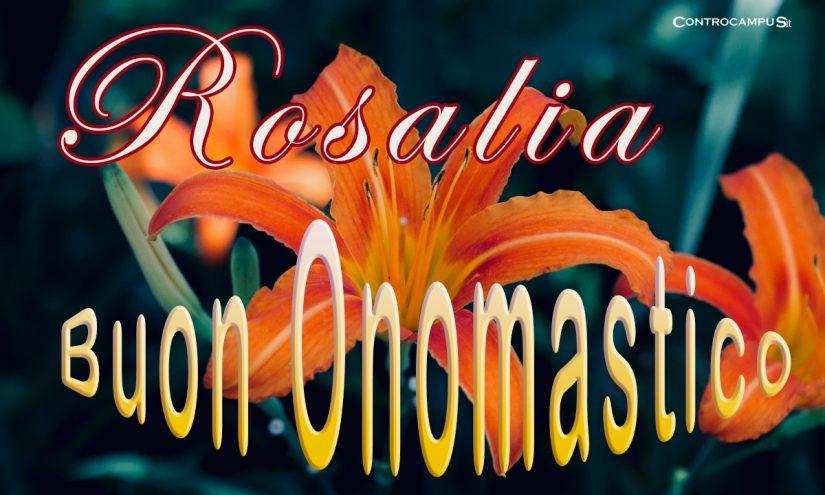 Immagini auguri per Santa Rosalia