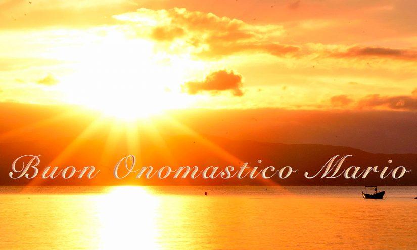 Immagini auguri buon onomastico per San Mario