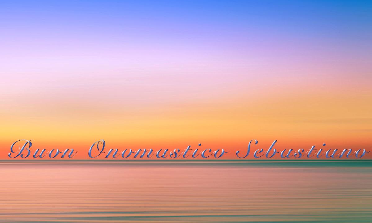 Immagini auguri buon onomastico per San Sebastiano