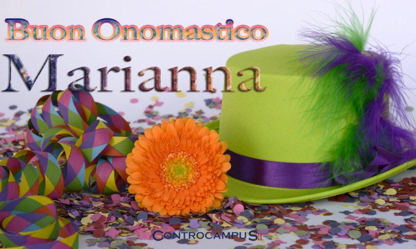 Immagini auguri onomastico per Santa Marianna