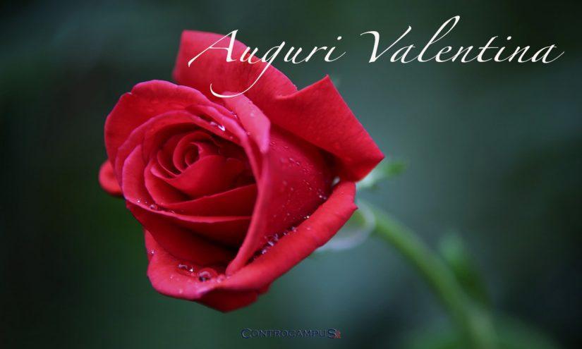 Immagini auguri buon onomastico Valentina