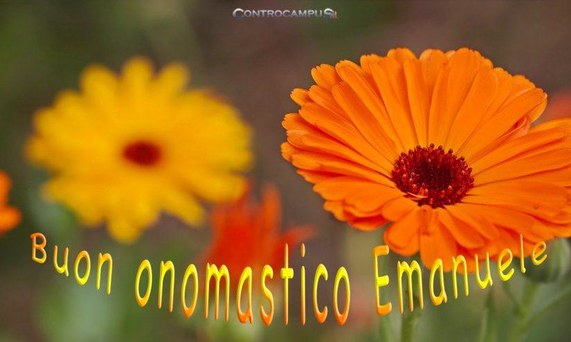 Immagini auguri buon onomastico Sant Emanuele