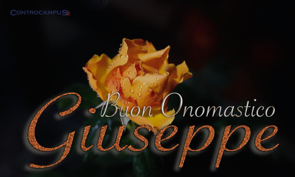 Immagini auguri buon onomastico Giuseppe