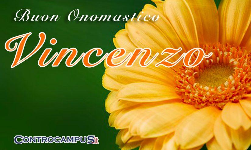 Immagini Buon Onomastico Vincenzo ed Enzo