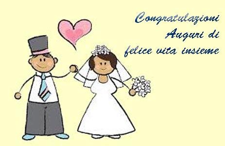 Auguri di matrimonio frasi semplici originali e immagini for Immagini di auguri matrimonio