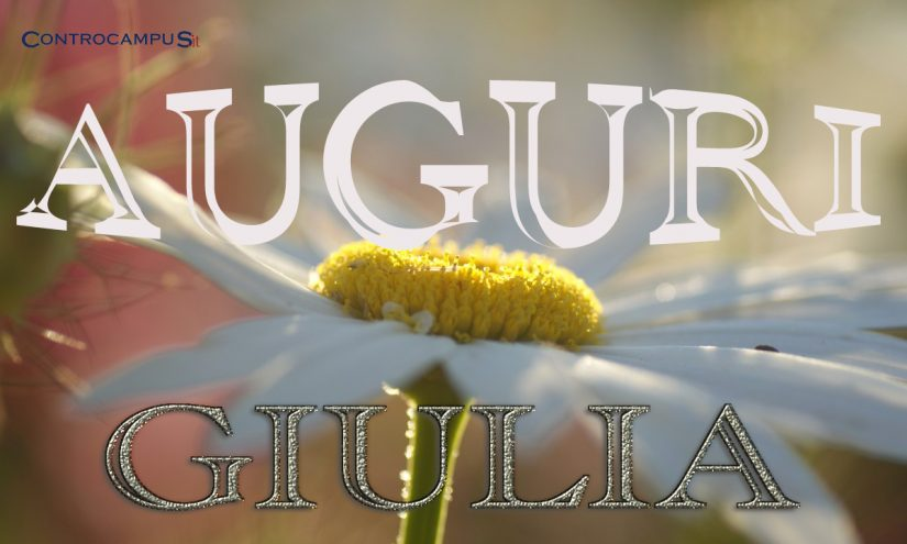 Immagini Auguri Onomastico Giulia