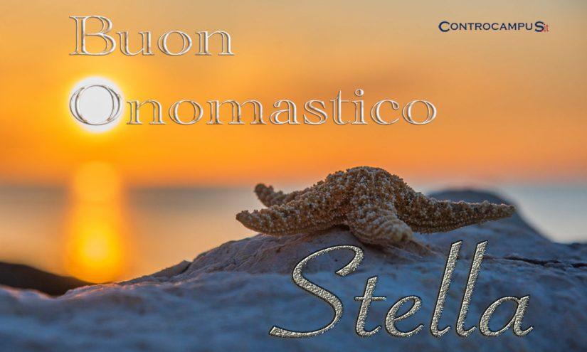 Immagini auguri buon onomastico Stella