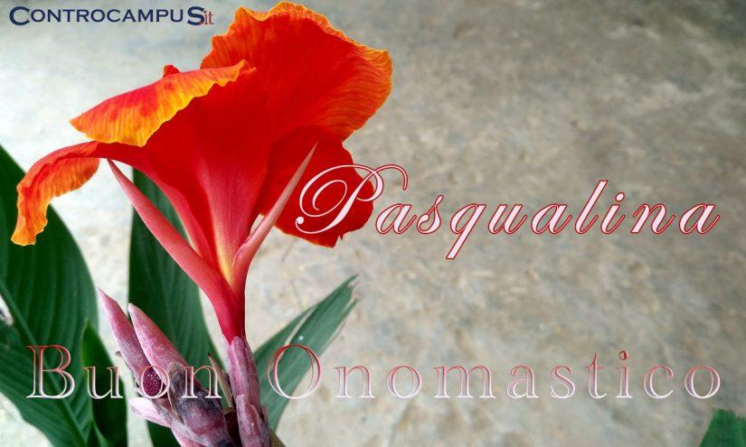 Immagini auguri buon onomastico Pasqualina