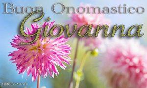 Immagini auguri Buon Onomastico Giovanna