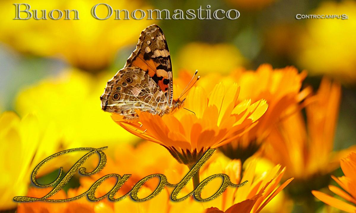 Immagini Auguri Onomastico Paolo
