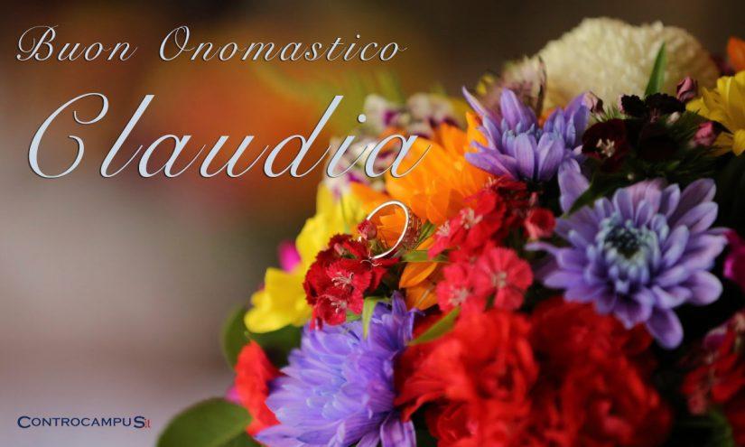 Immagini Auguri Onomastico Claudia