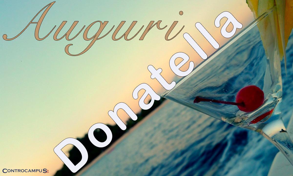 Immagini auguri Onomastico Donatella