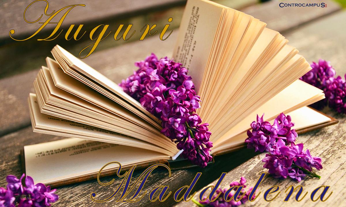 Immagini auguri buon Onomastico Maddalena