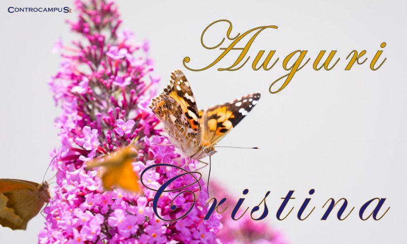 Immagini Auguri Buon Onomastico Cristina