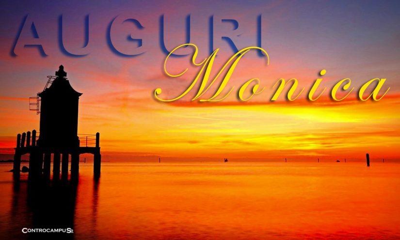 Immagini auguri buon Onomastico Monica