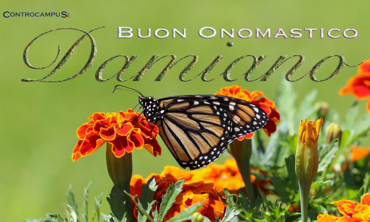 Immagini auguri buon onomastico per San Damiano
