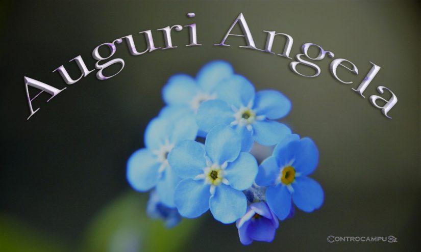 Immagini auguri buon onomastico Angela