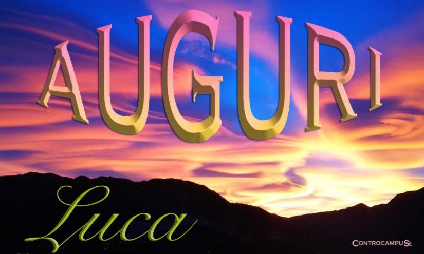 Immagini auguri buon onomastico Luca