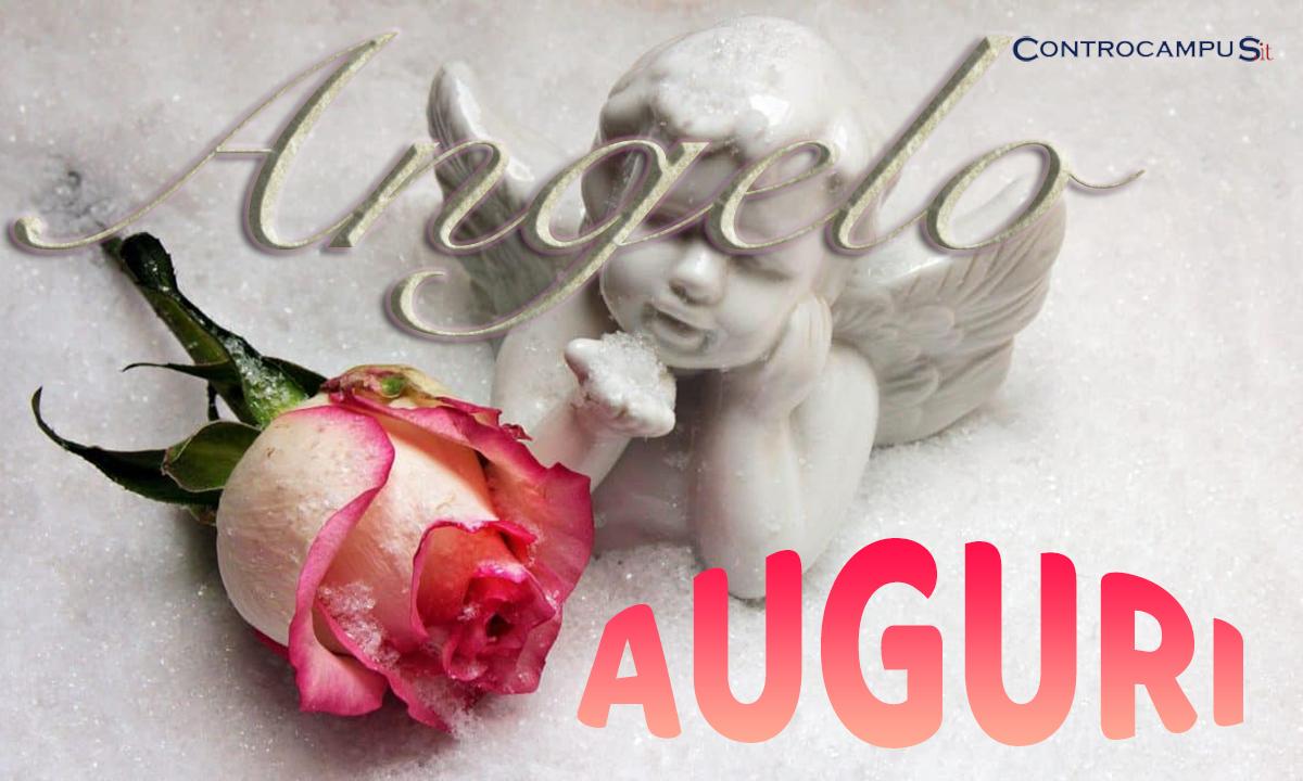 Immagini auguri buon onomastico Angelo