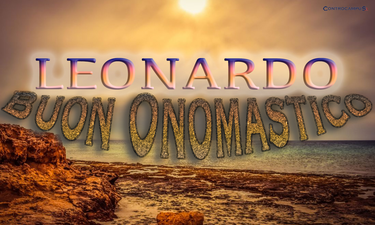 Immagini Auguri Buon Onomastico Leonardo