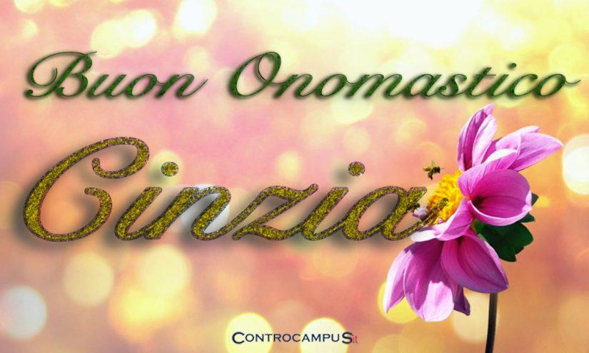 Immagini auguri buon onomastico per Santa Cinzia