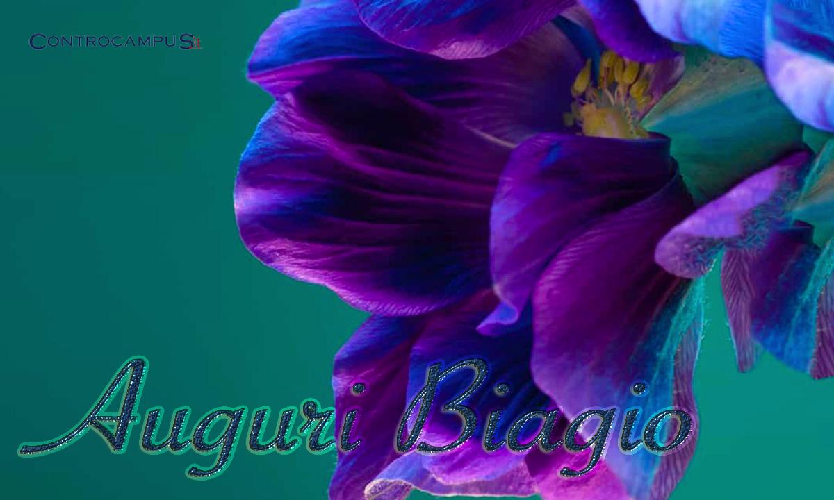 Immagini auguri buon onomastico Biagio