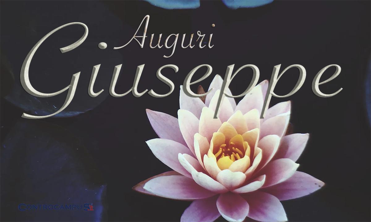 Immagini Auguri Onomastico Giuseppe