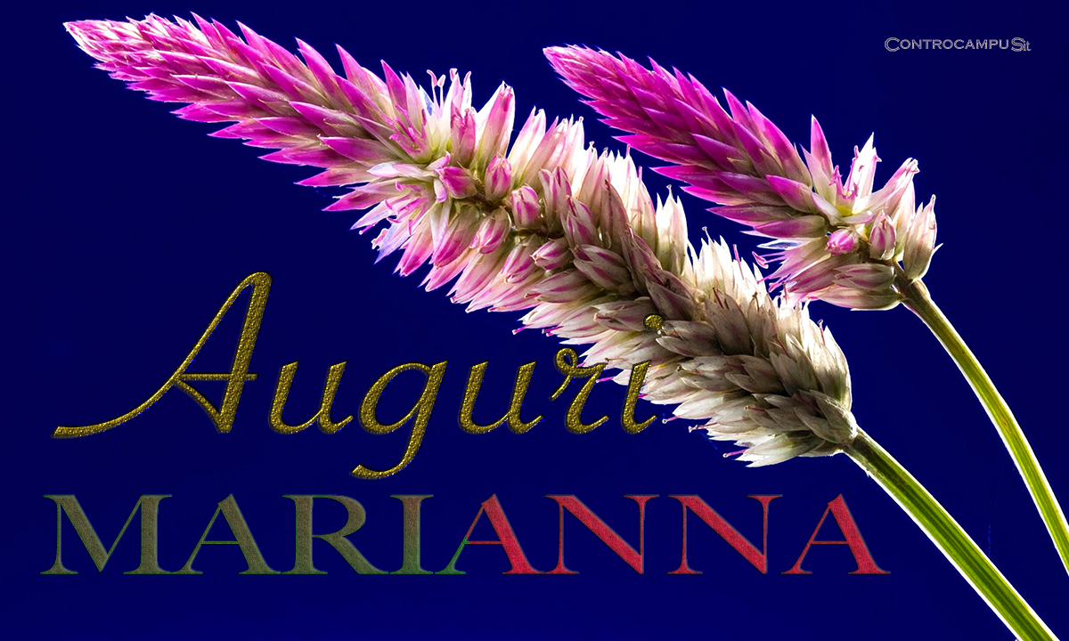 Immagini Auguri Onomastico Marianna