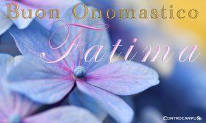 Immagini Auguri Buon Onomastico Madonna di Fatima