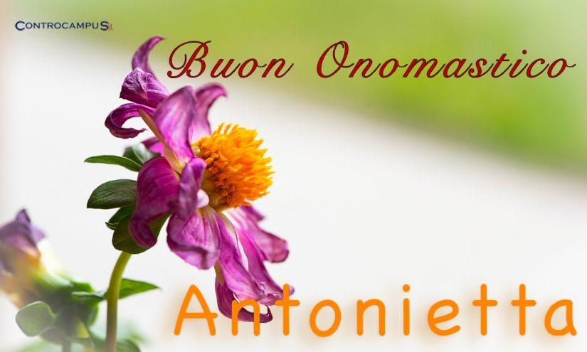 Immagini Auguri Onomastico Antonia e Antonietta