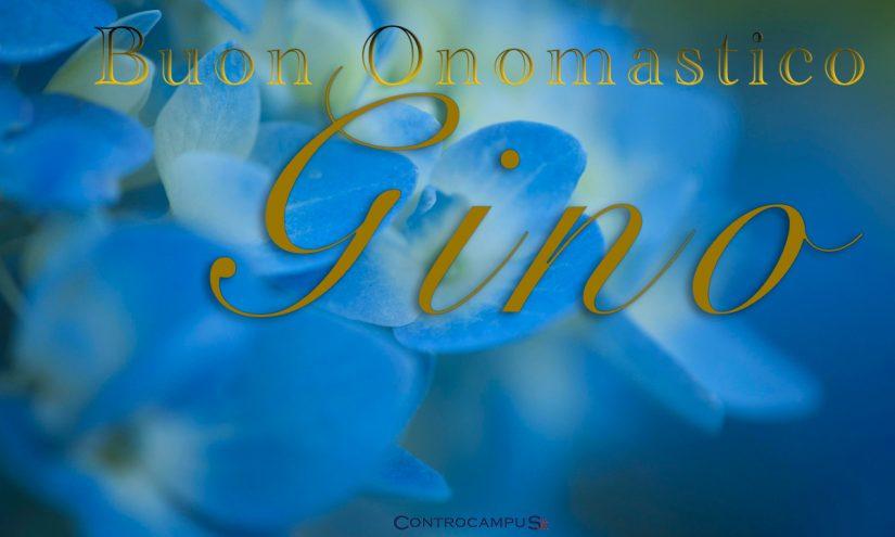 Immagini Auguri Buon Onomastico Gino