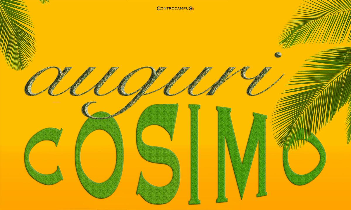 Immagini auguri buon Onomastico Cosimo