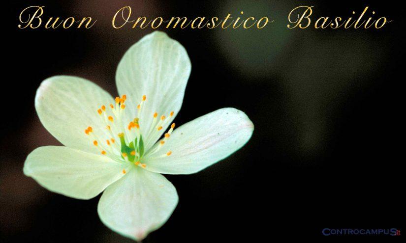 Immagini auguri di buon onomastico San Basilio